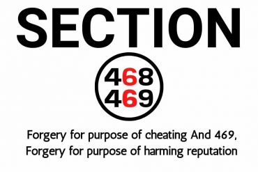 Section 468 and 469