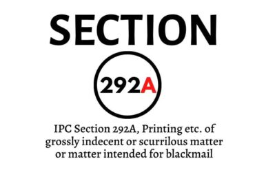 IPC Section 292A
