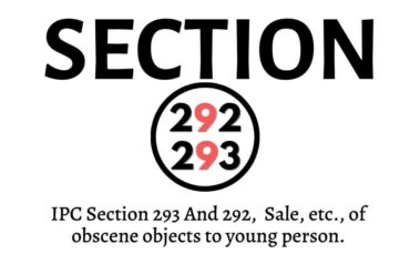IPC section 292 and 293