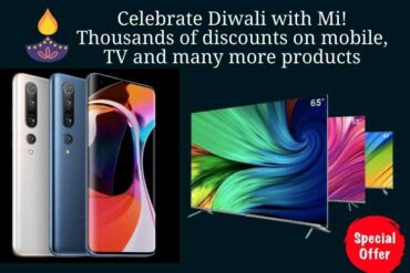 Celebrate Diwali with Mi! Thousands of discounts on mobile, TV and many more products